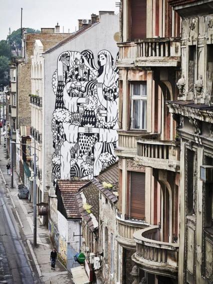 belgrade-mural Savamala,