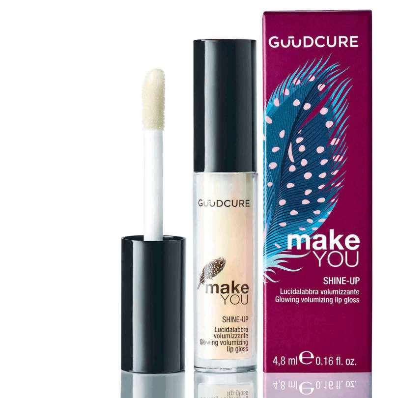 Shine-Up di Guudcure per labbra naturali a tutto volume
