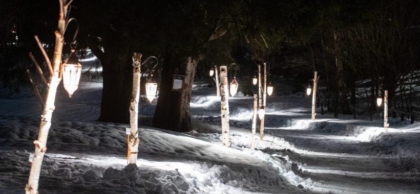 Sul Sentiero delle Lanterne a Crans-Montana: alla ricerca della stella Bella Lui