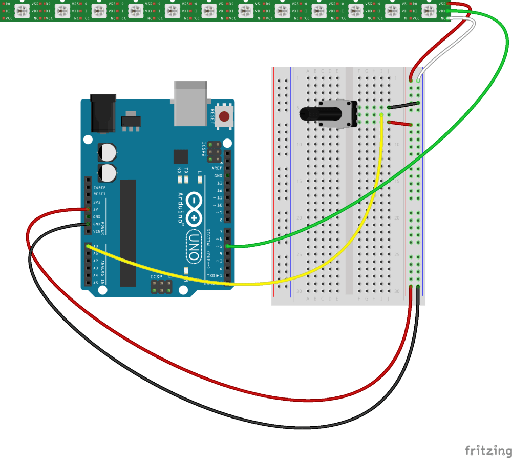 medium resolution of keep in mind that you could replace the potentiometer with virtually any other sensor which returns an analog range of numeric values back to the arduino