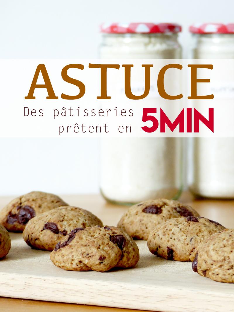 Recette cookies vegans facile et rapide