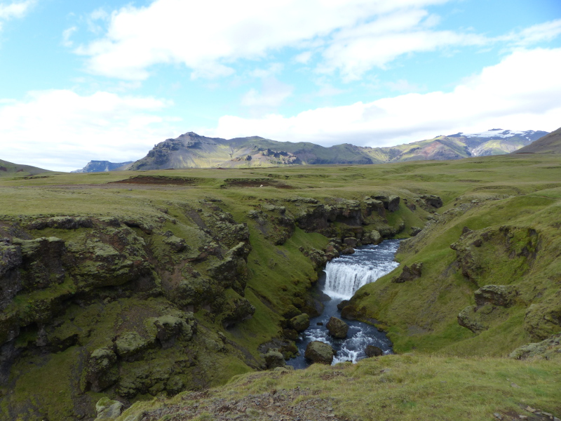 paysage skogar voyage islande