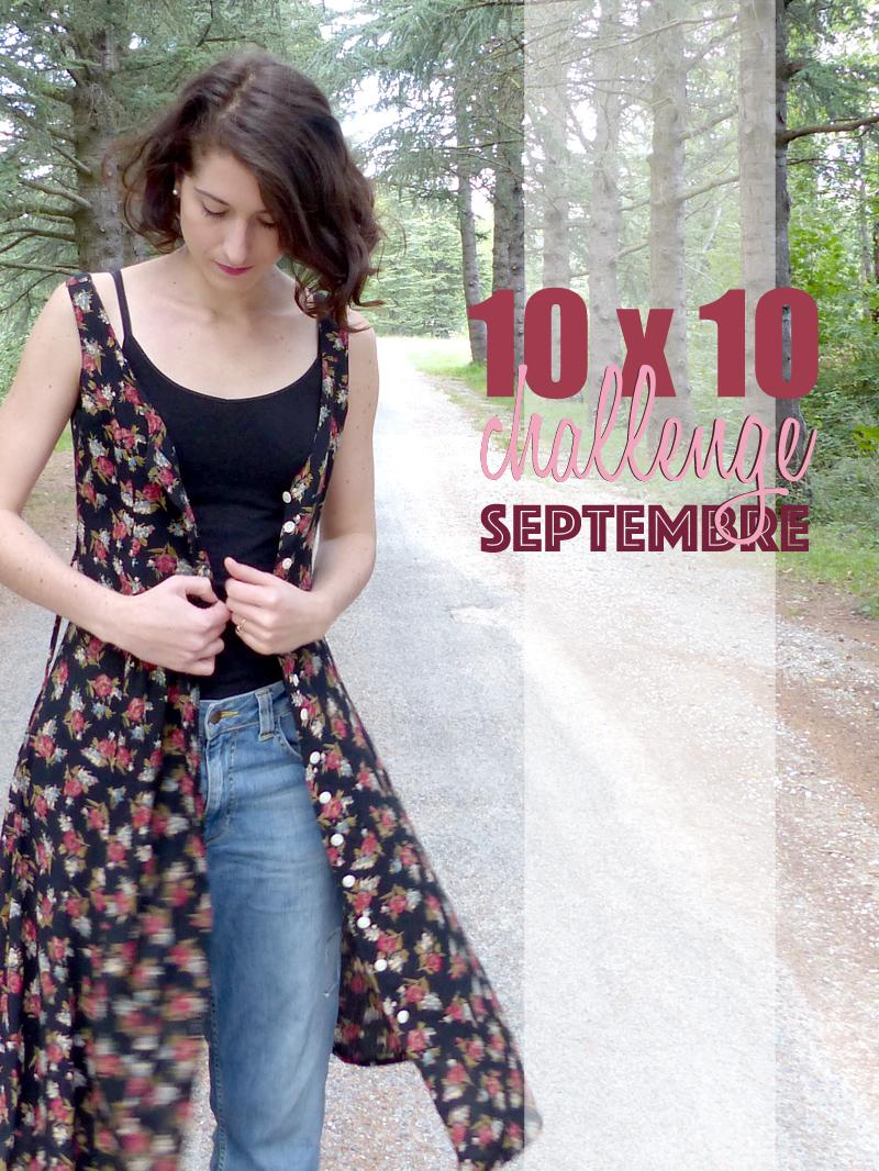 10x10 challenge avec hylla penderie, looks d'inter saison