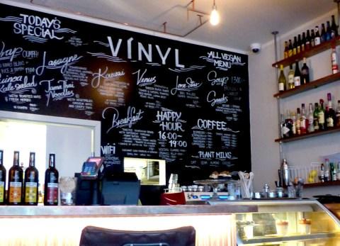 Kaffi Vinyl: manger vegan à Reykjavik