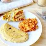 Pour commencer la journée du bon pied, un petit-déjeuner vegan, sans gluten et salé !