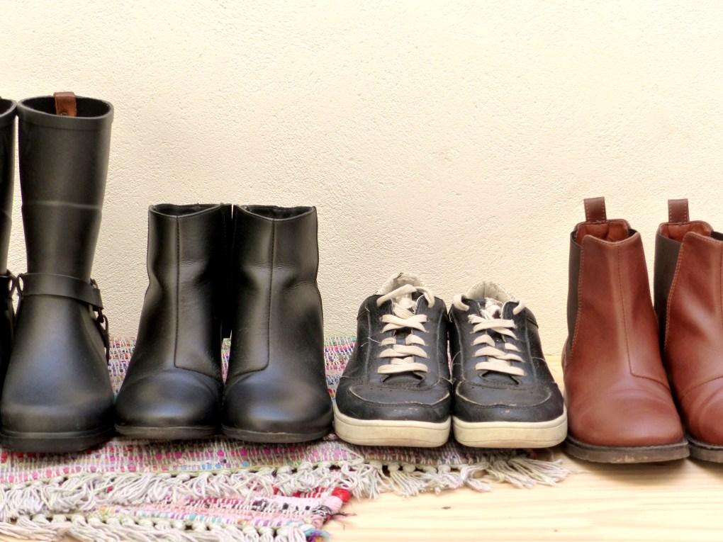 Conseils pour un placard à chaussures minimaliste
