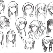 anime girl hairstyles collection