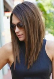 shoulder medium length hairstyle