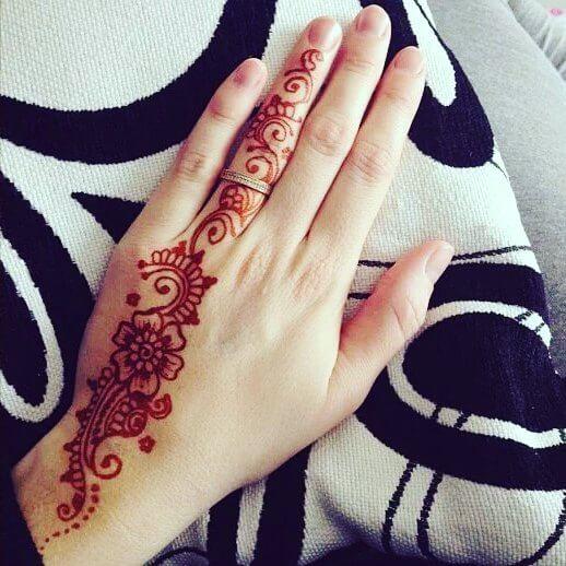 Easy Simple Beginner Basic Arabic Mehndi Mehndi Designs