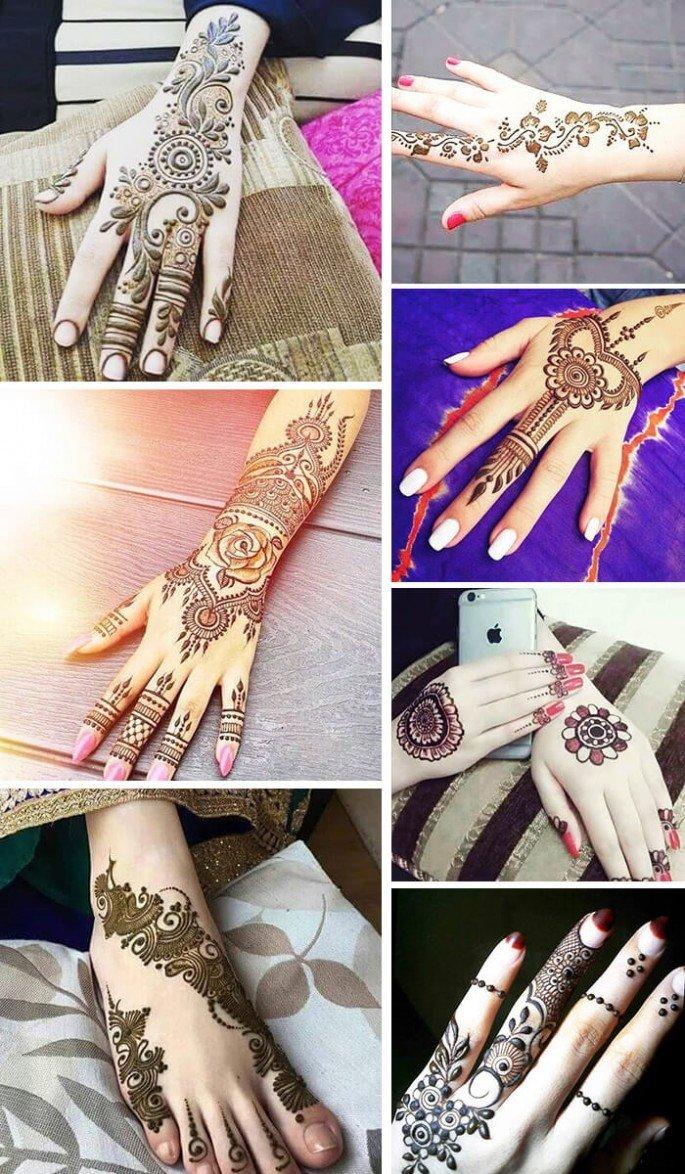 Easy Simple Beginner Cute Arabic Mehndi Mehndi Design