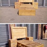 20 Cool Unique Recycled Wood Pallet Ideas Sensod