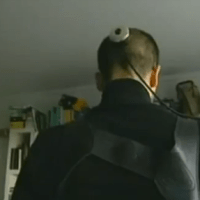 'The Third I' camera implant in the back of head