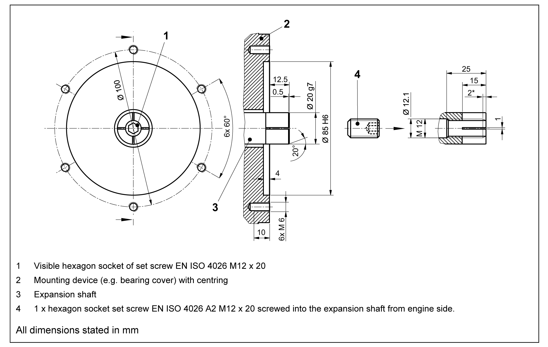 Magnetic Incremental Rotary Encoder Gel 2592- Lenord