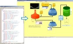 Design SCADA HMI using HTML & Javascript code