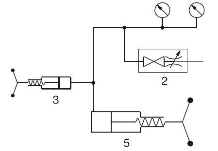 ADT901 low pressure test pump pneumatic schematic diagram