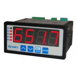 SRP94 Large LED Process Display Panel Mount Indicator