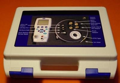 LevCal Submersible Pressure Sensor Calibration Kit Case