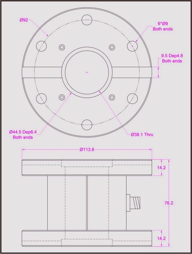 0 10v analog signal wiring av receiver diagram thru hole torque sensor flange measure