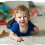 Tummy time at 5 months
