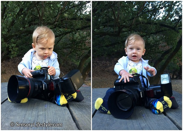 Josh with camera