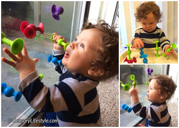 Squigz baby play