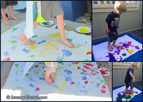Paint stomping
