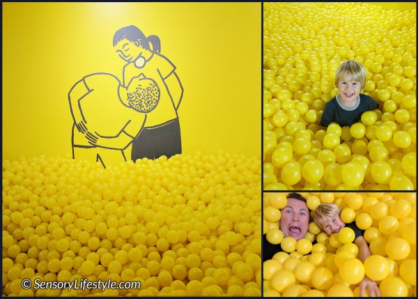Yellow Ball pit