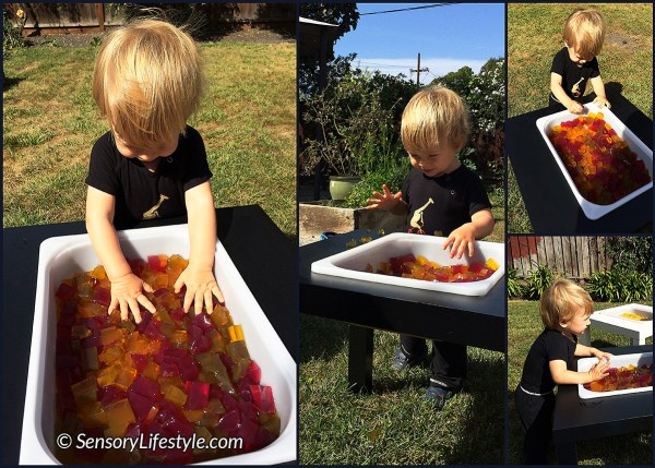 gelatin play collage