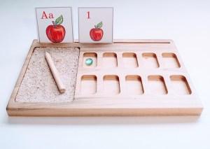 montessori ten frame sand tray