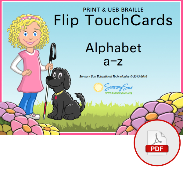 Sensory Sun Braille Alphabet Book