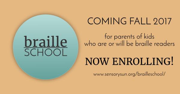 braille school advertisement