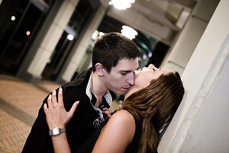 neck kissing