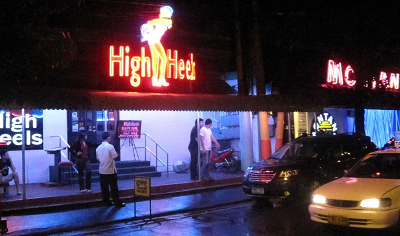high heels bar