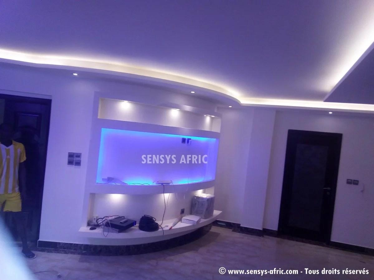 Amnagement intrieur maison contemporaine  Dakar