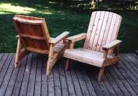 diy wooden deck chairs | Quick Woodworking Projects