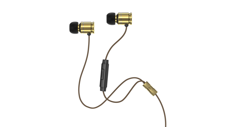 Sentey Bullex Gold Earbuds Ls