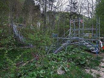 le banc de l ours le versant ouest