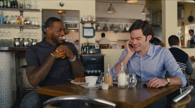 bill hader e le bron james in un disastro di ragazza