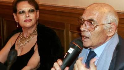 Pasquale Squitieri e Claudia Cardinale