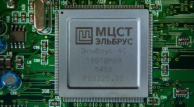 """Il processore Elbrus-4C, di fabbricazione russa: lento, ma affidabile e senza """"falle"""" di sicurezza"""