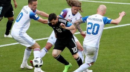 Messi Argentina Islanda
