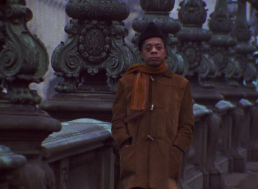 James Baldwin in Paris