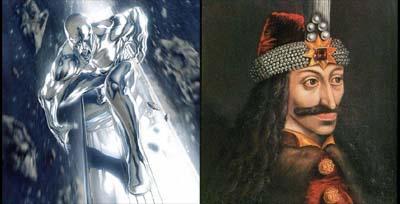 Silver Surfer - Dracula Year Zero
