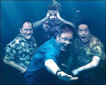 Stanton col Creative Team di Finding Nemo