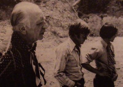 Jim Thompson con Robert Redford