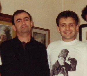 Federico Chiacchiari e Demetrio Salvi, nel 1990