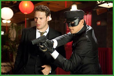 Seth Rogen e Jay Chou in THE GREEN HORNET di Michel Gondry (2011)