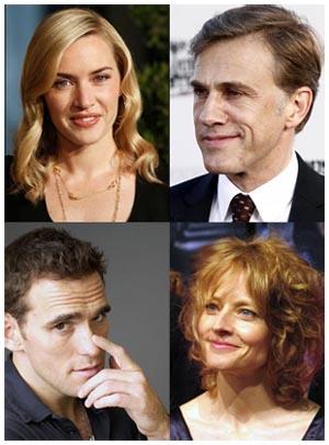 Il cast del nuovo film di Roman Polanski - Kate Winslet, Jodie Foster, Christoph Waltz, Matt Dillon