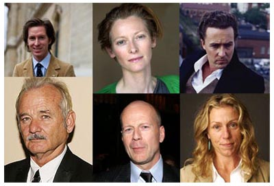 In negoziazione per il nuovo Wes Anderson:  Tilda Swinton, Edward Norton, Frances McDormand, Bruce Willis, Bill Murray