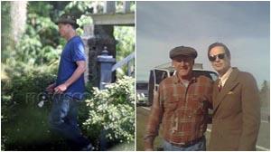 Scatti sul set di ON THE ROAD: Viggo Mortensen e Steve Buscemi